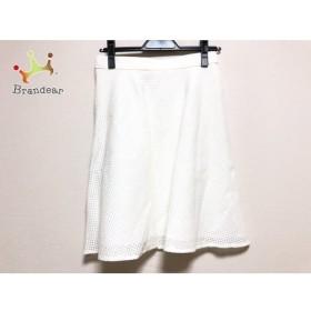 ジャスグリッティー JUSGLITTY スカート サイズ2 M レディース 美品 白   スペシャル特価 20190521【人気】
