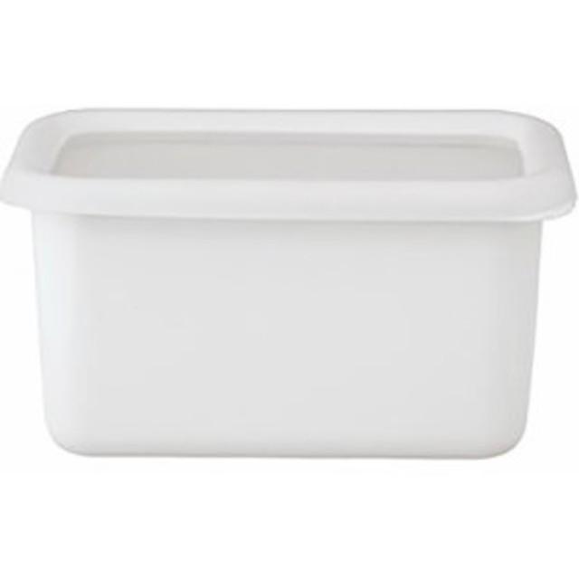 【ハニーウェア コンテ 深型角容器 S リリーホワイト KE-DS LW 1コ入】[代引選択不可]