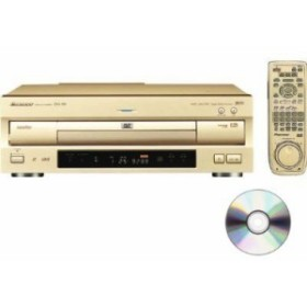 Pioneer LD/DVD/CDプレーヤー DVL-919 DVDクリナー ケーブル付セット(中古品)