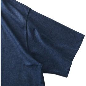 Tシャツ - 大きいサイズの店ビッグエムワン 大きいサイズ メンズ DANIEL DODD 半袖 Tシャツ オーガニック プリント 半袖Tシャツ THE MEANS 春夏新作azt-190233