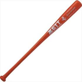 [ZETT]ゼット野球 硬式野球用木製バット (アオタモ) スペシャルセレクトモデル (BWT15884)(6400ST) レッド ※ラッピング不可[取寄商品]