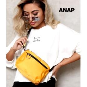 ANAP(アナップ)リングZIPサコッシュバッグ