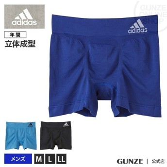GUNZE(グンゼ)/adidas(アディダス)/ボクサーパンツ(前とじ)(メンズ)/APS080A/M〜LL