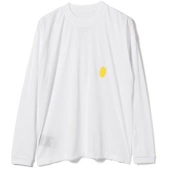 P.A.M / MESH Long Sleeve Tee メンズ Tシャツ WHITE XL