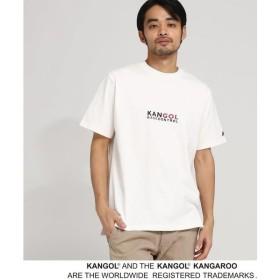 BASE STATION / ベースステーション KANGOL カンゴール 別注 コラボ Tシャツ メンズ 胸刺繍 半袖Tシャツ