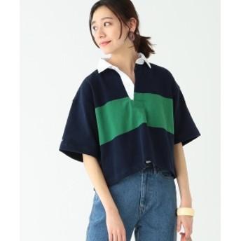BARBARIAN × B:MING by BEAMS / 別注 ラガーシャツ 19SS レディース カットソー NAVY S