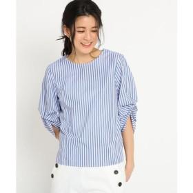 Dessin / デッサン 【洗える】ギャザータックスリーブプルオーバーシャツ