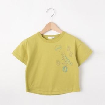 [マルイ]【セール】【80-130cm】恐竜ステッチTシャツ/シューラルー(キッズ)(SHOOLARUE Kids)