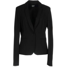 《期間限定セール開催中!》LIU JO レディース テーラードジャケット ブラック 46 ポリエステル 88% / ポリウレタン 12%
