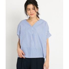 Dessin / デッサン 【洗える】クリオネシルエットシャツ