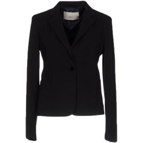 《期間限定セール開催中!》,MERCI レディース テーラードジャケット ブラック 44 ポリエステル 95% / ポリウレタン 5%