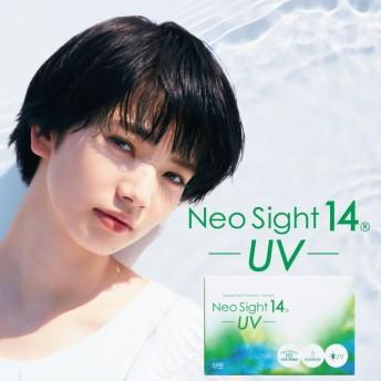 ネオサイト14 UV 1箱6枚入 2週間用 コンタクト 度あり 2week 直径14.0mm ネオサイト14 UV クリア コンタクトレンズ UVカット 2ウィーク アイレ neosight UV