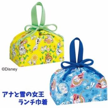 ランチ巾着 ディズニー アナと雪の女王 エルサ アナ雪キャラクター 弁当袋 KB7【RK1166】
