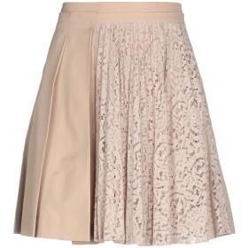 《セール開催中》N°21 レディース ひざ丈スカート サンド 40 コットン 100% / ナイロン