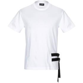 《期間限定セール開催中!》LES HOMMES メンズ T シャツ ホワイト S コットン 100%