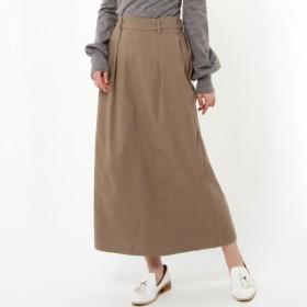 スカート レディース ロング ラクでおしゃれなスーパーストレッチロングスカート 「ベージュ」