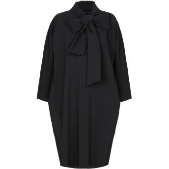 《9/20まで! 限定セール開催中》GIANLUCA CAPANNOLO レディース ミニワンピース&ドレス ブラック 40 ポリエステル 90% / ポリウレタン 10%