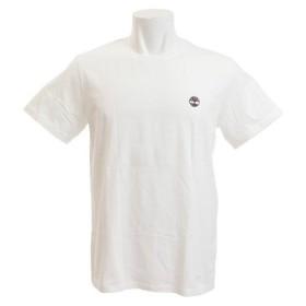 ティンバーランド(Timberland) ブラック アンド チェスト ツリーTシャツ A1T8G100 WHT (Men's)
