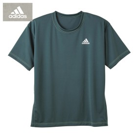 GUNZE グンゼ adidas(アディダス) インナーTシャツ(メンズ) ブラック L