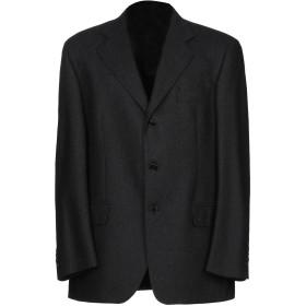 《期間限定セール開催中!》GEORGE HESSE メンズ テーラードジャケット ブラック 54 ウール 100%