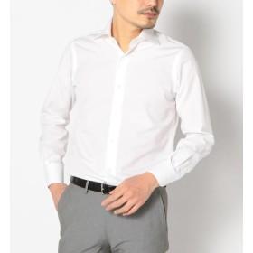 【シップス/SHIPS】 SD:【ALBINI社製生地】ファインフィットブロード ソリッド ワイドカラーシャツ