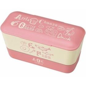 【ABC レディースランチ2段 ピンク T-66433 1コ入】