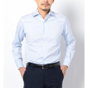 【シップス/SHIPS】 SD:【ALBINI社製生地】ファインフィット ツイル ワイドカラー シャツ