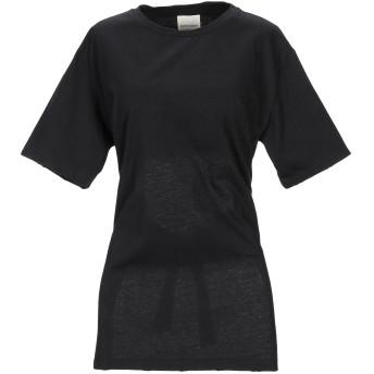 《9/20まで! 限定セール開催中》KENGSTAR レディース T シャツ ブラック XS コットン 100%