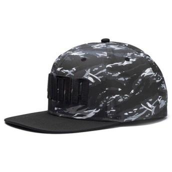 (セール)PUMA(プーマ)スポーツアクセサリー 帽子 プーマ フラットブリム キャップ 02146019 メンズ AD ダーク シャドウ/カモ