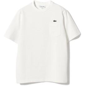 LACOSTE / コットン ピケTシャツ メンズ Tシャツ 001 WHITE 4