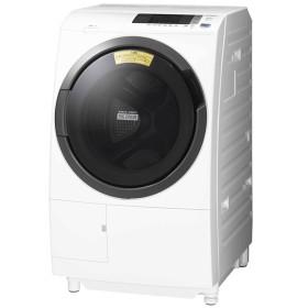 日立 BD-SG100CL ホワイト ビッグドラム [ななめ型ドラム式洗濯乾燥機 (10kg) 左開き] 洗濯機