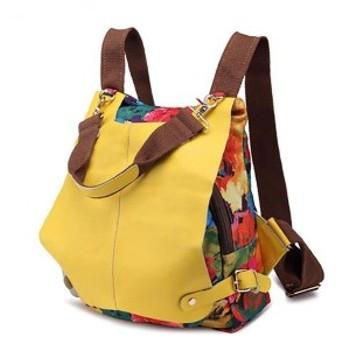 花柄 リュック レディース 大人 かわいい 鞄 バッグ おしゃれ オシャレ カジュアル ファッション 黒 ブラック 軽量 ママ