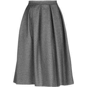 《期間限定セール開催中!》ALTEЯGO レディース 7分丈スカート 鉛色 38 ポリエステル 64% / レーヨン 33% / ポリウレタン 2% / メタリック繊維 1%