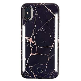 <LUMEE/ルミー> スマートフォンケース(LuMee DUO iPhone X/XS) Metallic Rose Black Marble 【三越・伊勢丹/公式】