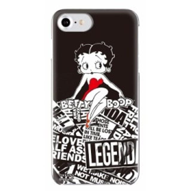 7b03c911b1 iPhone8/7/6s/6対応 背面ケース LEGENDA(レジェンダ)×Betty Boop ...