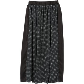 【5,000円以上お買物で送料無料】【CAROLINA GLASER】配色ドットスカート