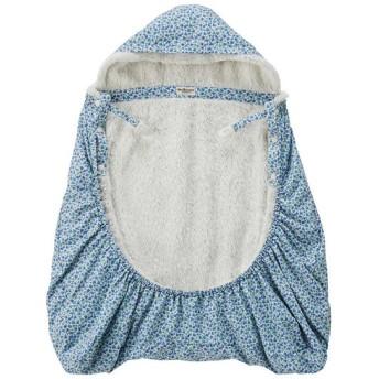 新生児 ミキハウス ホットビスケッツ キャリーケープ ブルー ベビー・キッズウェア 新生児・乳児(50~80cm) おくるみ・ベスト (56)