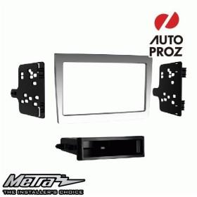 METRA 正規品 ポルシェ 997 2005-2012年 シングルDIN/ダブルDIN オーディオ取り付けキット/ダッシュキット グレー