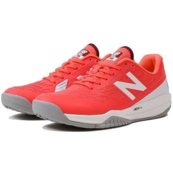 ニューバランス NEW BALANCE WCO796 レディーステニスシューズ(オムニ・クレーコート用) [サイズ:24.5cm(D)] [カラー:ピンク] #WCO796R1