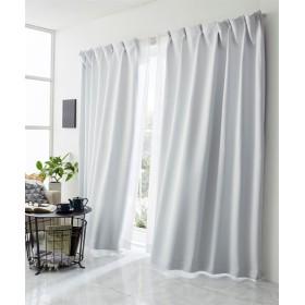 【送料無料!】真っ白な遮熱。遮光カーテン ドレープカーテン(遮光あり・なし)