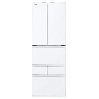 東芝 TOSHIBA 6ドア冷蔵庫 VEGETA べジータ 509L クリアグレインホワイト GR-P510FW-UW
