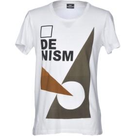 《セール開催中》DR. DENIM JEANSMAKERS メンズ T シャツ ホワイト M コットン 100%