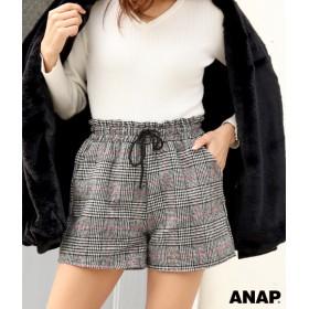 【セール開催中】ANAP(アナップ)●グレンチェックイージーショートパンツ