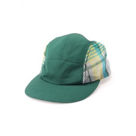 White Mountaineering ORIGINAL BIG CHECK MESH JET CAP キャップ,グリーン