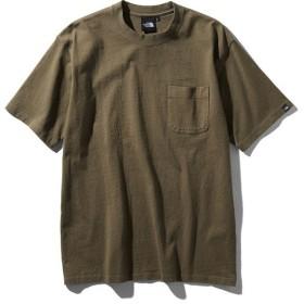 THE NORTH FACE(ノースフェイス)トレッキング アウトドア 半袖Tシャツ S/S GD Heavy Cotton Tee NT81832 NL メンズ NL
