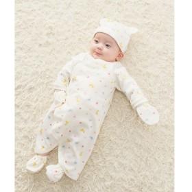 6870370a39b63  マルイ  <新生児>スムース素材 どうぶつ柄ミトン ミキハウス ホットビスケッツ(MIKIHOUSE