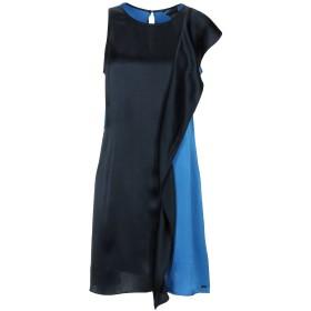 《期間限定セール開催中!》ARMANI EXCHANGE レディース ミニワンピース&ドレス ダークブルー 8 シルク(マルベリーシルク) 100%