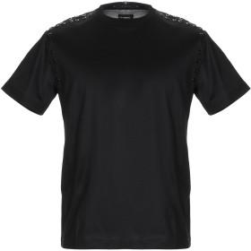 《セール開催中》LES HOMMES メンズ T シャツ ブラック XS コットン 100%
