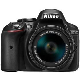【中古】Nikon デジタル一眼レフカメラ D5300 AF-P 18-55 VR キット ブラック 展示品