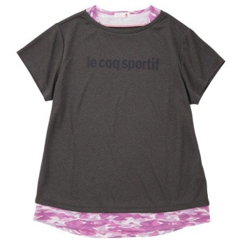 (セール)le coq sportif(ルコックスポルティフ) レディーススポーツウェア Tシャツ 半袖シャツ QMWNJA05 CMX レディース CMX